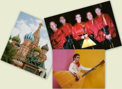 Moscow,Russian band,Gilmore girls,let me hear your balalaikas ringing out,elvis